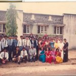 Students posing for Teacher's Day Celebration