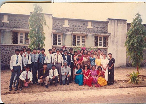 Students posing for Teacher's Day Celebration